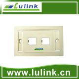 La mejor placa frontal del estilo del socket de pared del enchufe de la información sobre los precios 120