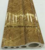Cornisa de mármol del PVC del color en el moldeado de la manera de la alta calidad