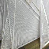 Pannello reticolare di alluminio di Sytle del triangolo per la decorazione esterna