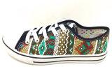 De nieuwe Schoenen van het Canvas van de Schoenen van de Injectie van de Vrouwen van de Aankomst Toevallige Vlakke (FFDL0114-01)
