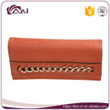 Signore Handmade raccoglitore, borsa di cuoio dell'unità di elaborazione di colore del Brown per le donne