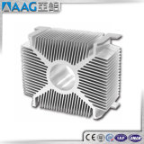 6063-T5 kundenspezifisches Aluminiumkühlkörper-Strangpresßling-Profil