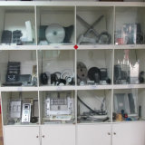 アルミニウム電気通信装置のキャビネットカバーADC12はダイカストを