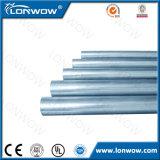 Sección hueco de la alta calidad galvanizada alrededor de los tubos de acero manufacturados en China
