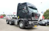 Sinotruk HOWO T7h 6X4 440HPのトラクターのトラックのトラクターヘッド
