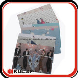 Insieme su ordinazione del regalo della cartolina del documento di arte della stampa