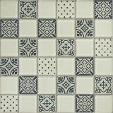 el mosaico del vidrio de 48*48m m fácil instala el mosaico del vidrio de los azulejos de la pared interior