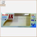Zoll gedruckter freier Plastikzahnpasta-Kasten mit Aufhängung, freier PVC/Pet/PP Kunststoffgehäuse-Kasten