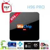 2016 아름다운 Desig Wechip H96 직업적인 S912 Kodi 17.0 Octa 코어 4k 2g 16g 지능적인 텔레비젼 상자