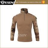 Uniforme militaire, T-shirt tactique de camouflage de combat d'armée