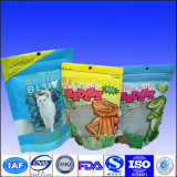 Nahrungsmittelgrad-kundenspezifisches Firmenzeichen Doypack Plastikreißverschluss-Beutel mit Fenster