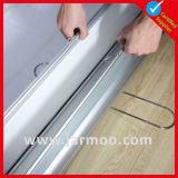 Présentoir en aluminium avec le double drapeau latéral d'impression