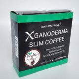 Café instantané noir organique de régime de perte de poids de Ganoderma