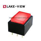 Commutateurs de bouton poussoir électriques de Pin DEL de la fonction 6 d'Alternater