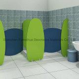 多彩で、美しい様式は付属品が付いている洗面所のキュービクルの区分をからかう
