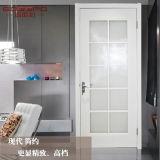 Hölzerne Innenraum-Tür mit Glaspanels (GSP3-046)