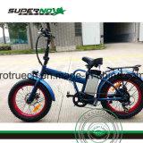 후방 모터 8fun를 가진 Antislip 뚱뚱한 타이어 전기 자전거