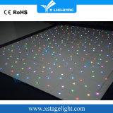 Portátil de cristal templado Starlit LED Dance Floor para la boda