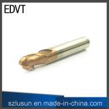 Couteau de broyeur à boulets d'acier de tungstène d'Edvt 60HRC 2flute