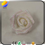 Material de embalaje Curling Bubble Simulation PE Gold Roses
