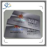 Cartão de sociedade plástico do PVC do presente da impressão do VIP do negócio da cor cheia