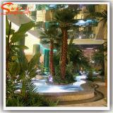 Landscaping пальма вентилятора украшения искусственная поддельный