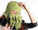 Passe-montagne à crochet Hand Knitted de Cthulhu de chapeau de poulpe de crochet