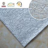 Tela de nylon del cordón, material floral delicado para las materias textiles caseras Ln10029