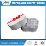 Люкс коробка шоколада с пластичными коробками круглой формы подноса твердыми опорожняет упаковывать