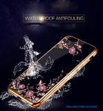 iPhone7のための携帯電話の箱を電気めっきする秘密庭TPU