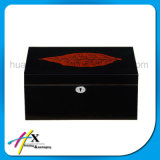عامّة لمعان بيانو طلاء لّك سيجار خشبيّة يعبر صندوق
