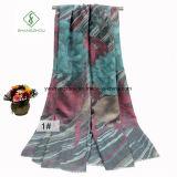 Nieuwe Katoenen van het Ontwerp Digitale Afgedrukte RT Sjaal Dame Fashion Scarf