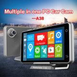 Navegação GPS do perseguidor da câmera DVR do carro da opinião traseira 1080P de WiFi