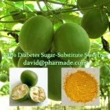 Le diabète 100% de Sweetner de Luo Han Guo Sucre-Substitue l'édulcorant