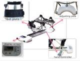 El movimiento pasivo continuo trabaja a máquina el CPM de la rodilla