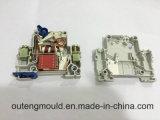 Molde de bloco de terminais elétrico de molde de plástico