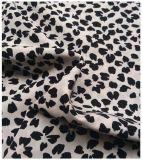 Textil poliéster Koshibo tela, pequeño tipo de flor floral, adecuado para faldas y pantalones