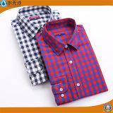 OEMの女性の上のブラウスの方法はワイシャツのブラウスを設計する