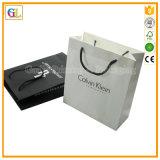 Sac d'emballage en papier, sac à provisions en papier, sac en papier