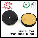 30*7.5mm 12V 85dB de Mini Piezoelectric Actieve Zoemer van de Omvormer met Speld