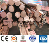 Barra C10100 (lisa) redonda de cobre para o uso industrial