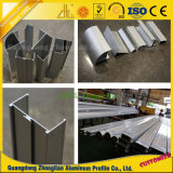 Hersteller des kundenspezifischen bunten anodisierten Aluminiumprofils für Fenster-und Tür-Dekoration
