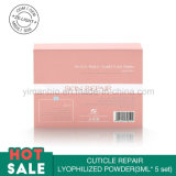 Revitalize o pó liofilizado da cutícula do cuidado de pele do creme de tez reparo ajustado