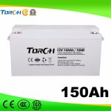 Batteries de gel de la batterie d'acide de plomb 12V 90ah VRLA de capacité totale
