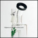 Nuevo tubo de agua de cristal de Toro con el diseño fijo difundido del vástago para fumar