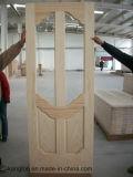 Porta de madeira do carvalho (KD04A-G) (porta de madeira contínua)
