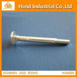 El sujetador DIN603 emperna los tornillos principales de la seta