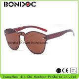 Óculos de sol clássicos plásticos do melhor projeto (C6004)