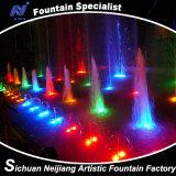 Fontaine de contrôle de programme de grand dos de fontaine de danse de musique