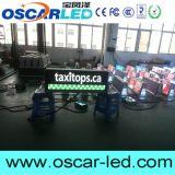 LEIDEN van de Reclame van het Dak van de auto/van de Taxi Hoogste Dubbele Opgeruimd Teken